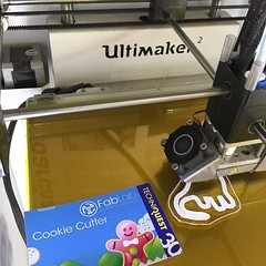 Come to @tqcardiff to design and make your own #cookiecutter #3dprinting #design #cookies
