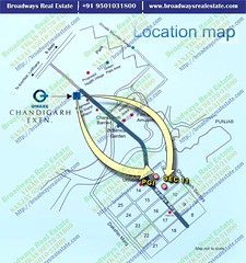 Omaxe The Resort Location Map Mullanpur
