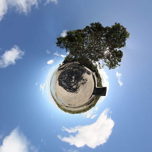 Rangitoto - little planet