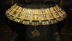 the Potence (Chain of Arms) of the Order of The Golden Fleece in the Schatzkammer
