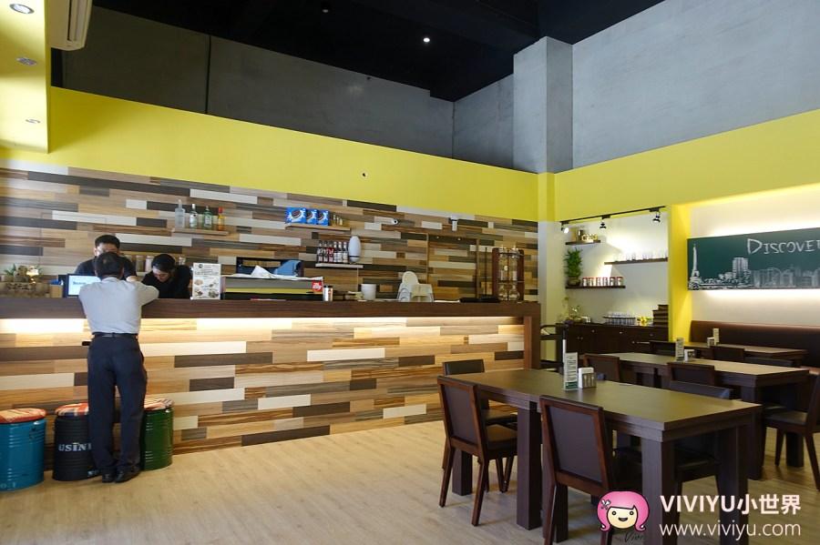 Discovery Cafe,中埔二街,探索咖啡,桃園咖啡,桃園美食,漢堡,燉飯,義大利麵 @VIVIYU小世界