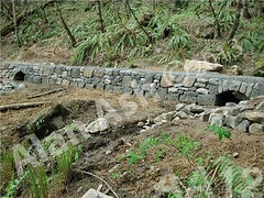 WM AA12, Alan Ash, Spencer's Butte Trail, dry laid stone construction, copyright 2014