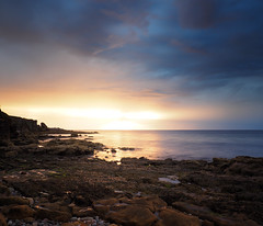 """Stormy Sunet at Cummingston, Moray • <a style=""""font-size:0.8em;"""" href=""""http://www.flickr.com/photos/26440756@N06/15198384311/"""" target=""""_blank"""">View on Flickr</a>"""