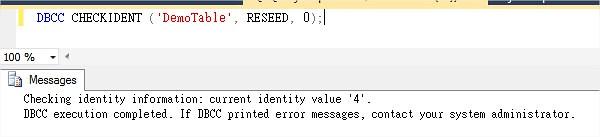 TSQL Check Identity value