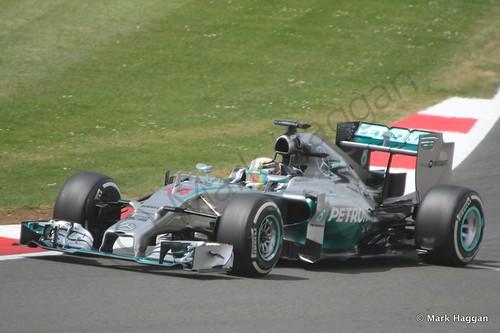 Lewis Hamilton in The 2014 British Grand Prix