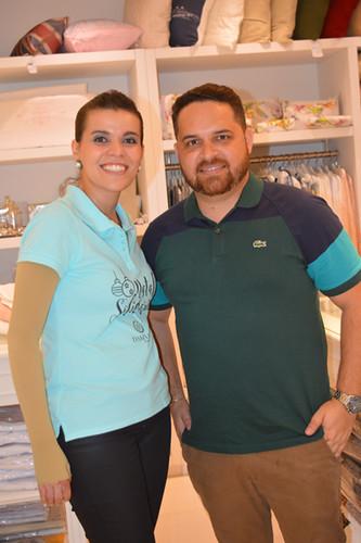 Yáscara e Lucas Ladislau, da Protobello Shop