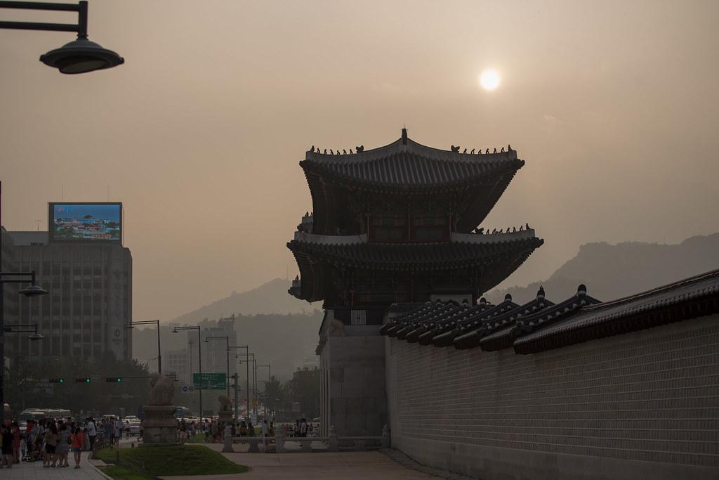 Seoul, downtown