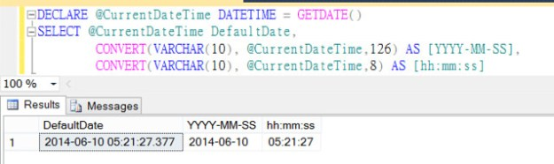 TSQL Convert DateTime to hh:mm:ss