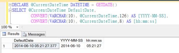 TSQL Convert DateTime to hh:mm:ss