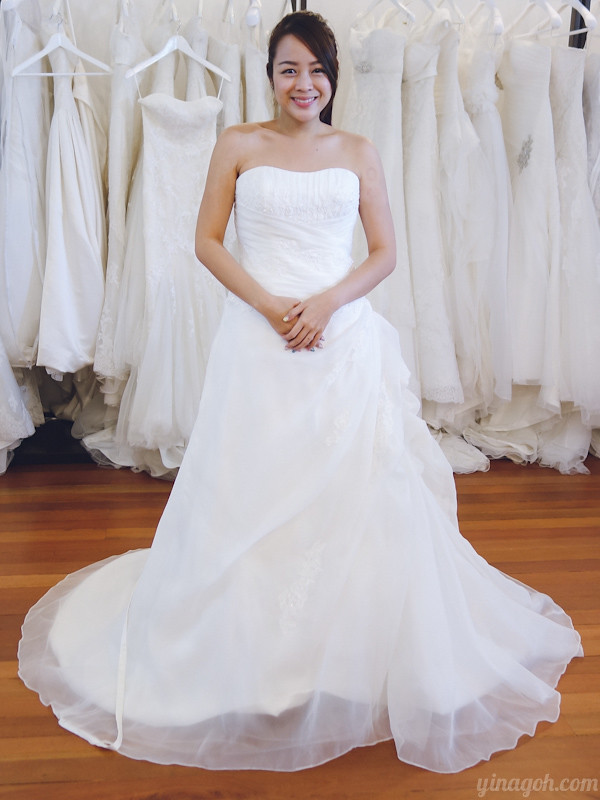 Wedding Prep: Gown Selection at Blessed Brides - Yina Goes
