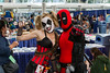 "Deadpool and Deadpool Harleyquin SDCC 2014 • <a style=""font-size:0.8em;"" href=""http://www.flickr.com/photos/33121778@N02/14595476738/"" target=""_blank"">View on Flickr</a>"