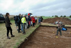 "West Kennet dig, 2014 • <a style=""font-size:0.8em;"" href=""http://www.flickr.com/photos/96019796@N00/14868916604/"" target=""_blank"">View on Flickr</a>"