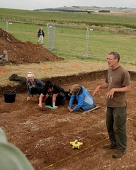 """West Kennet dig, 2014 • <a style=""""font-size:0.8em;"""" href=""""http://www.flickr.com/photos/96019796@N00/14684757858/"""" target=""""_blank"""">View on Flickr</a>"""