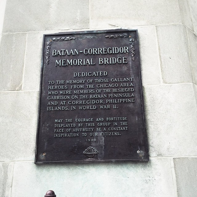 Bataan-Corregidor Memorial Bridge sign