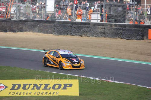 Gordon Shedden during the BTCC Brands Hatch Finale Weekend October 2016