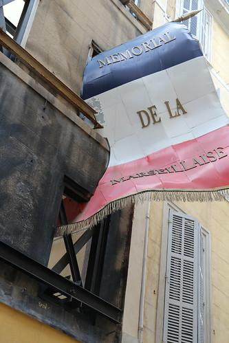 Mémorial de la Marseillaise : le drapeau