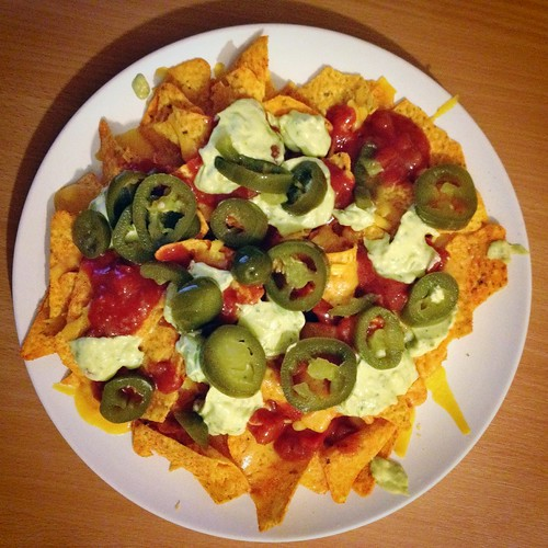 Today is all about...nachos