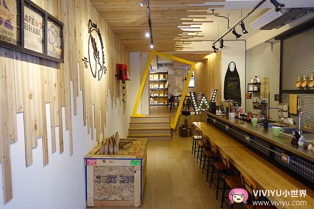 咖啡拉花,林口咖啡館,林口長庚,無臉男,鹿點咖啡,龍貓,龜山咖啡館 @VIVIYU小世界