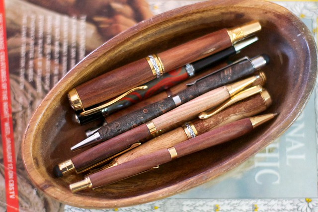 Pens Made by Friends