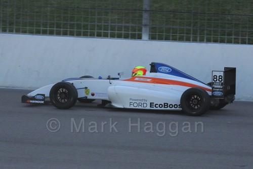Greg Holloway in MSA Formula at Rockingham, September 2015