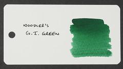 Noodler's G.I. Green - Word Card