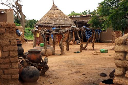 Burkina Faso : Noaka - Cour