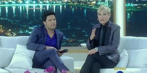 "Xuxa alfineta Silvio Santos: ""Está no ar o programa do menino americano"""