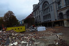 01 - 2015 10 25 - Afbraakwerken oude EHBO en toiletten