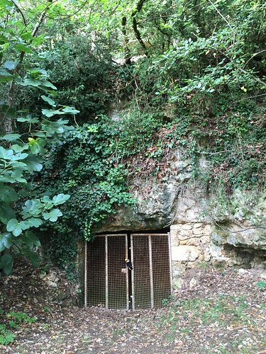 Non loin, une grotte célèbre dans la région, pour ses vestiges préhistoriques