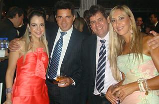 Jaqueline e Márcio Gledson, Leoncinho e Lúcia Miranda
