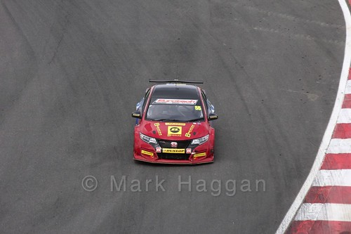 Jeff Smith during the BTCC Brands Hatch Finale Weekend October 2016