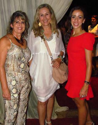 Carmelita, Raquel de Carvalho e Flavinha Camargo