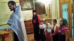 Крещение воспитанников приюта