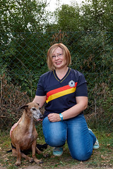 """Susanne mit Kongo • <a style=""""font-size:0.8em;"""" href=""""http://www.flickr.com/photos/110343667@N08/21811872840/"""" target=""""_blank"""">View on Flickr</a>"""