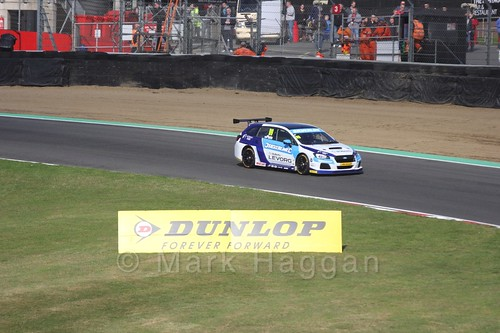 Jason Plato during the BTCC Brands Hatch Finale Weekend October 2016