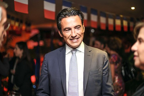 DAMIEN LORAS, ex consul da França no Brasil