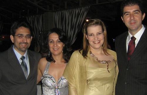 Adalgisa e Dr. Âderson e Maria Cláudia e Dr. Fábio Torres