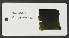 Noodler's El Lawrence - Word Card