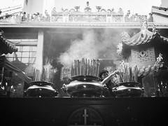 Incenses of Guan Di Temple