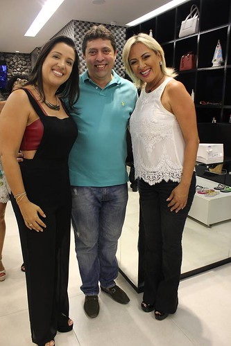 Camila e Fernando Braz, com Flavinha