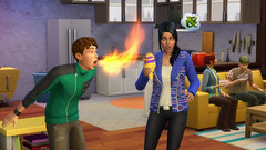 Les Sims 4 en cuisine