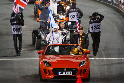Team Americas at The Race of Champions, Olympic Stadium, London, November 2015