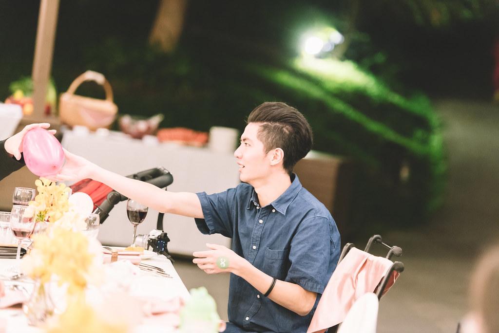 """""""台北推薦台中婚攝,JOE愛攝影,婚禮紀錄,台中心之芳庭小南法晚宴"""