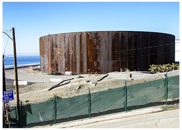 Oil Storage Tank El Porto