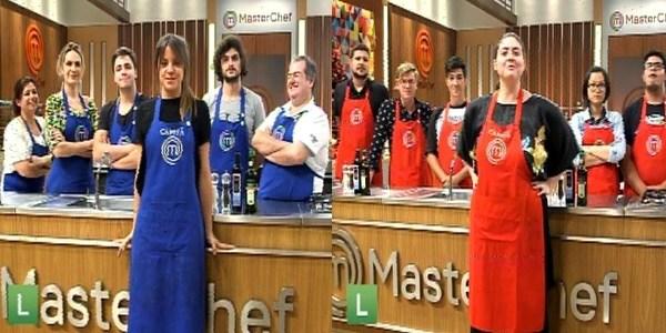 """Elisa e Izabel lideram equipes em programa especial do """"MasterChef"""""""