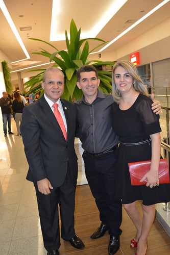 Carlos Souto e o casal Todeschini no Vale do Aço, Jucélio e Regina