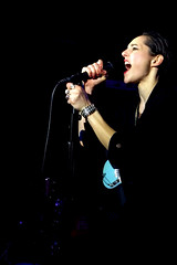 """Savages - 2015 NYC Residency, Mercury Lounge, New York City, NY 1-21-15 • <a style=""""font-size:0.8em;"""" href=""""http://www.flickr.com/photos/79463948@N07/23483718531/"""" target=""""_blank"""">View on Flickr</a>"""