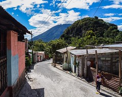Day 248. Streets of San Marcos La Laguna. Was planning on leaving after a day or two, but found a place to get one on one Spanish lessons so signed up for a week of six hours a day. Trying to take my Spanish to the next level. It'll be Christmas on the la