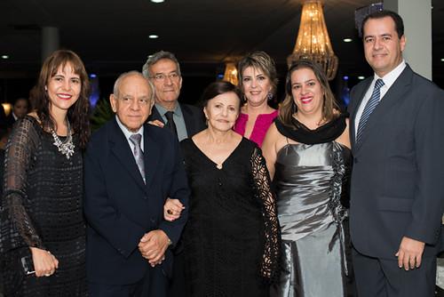 Kátia Camargo, Derinho e Amélia Camargo, Renato e Eliane França, Hyala e Gustavo Matos
