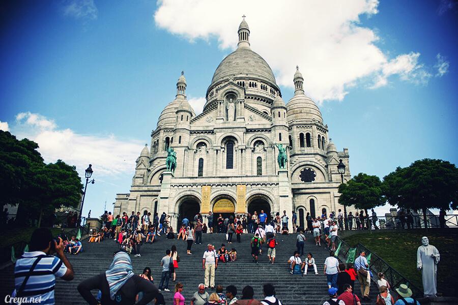 2016.10.02   看我的歐行腿  法國巴黎一日雙聖,在聖心堂與聖母院看見巴黎人的兩樣情 26